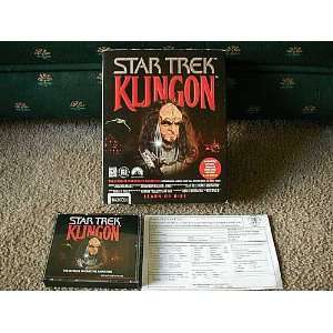Star Trek Klingon (Mac) Video Games