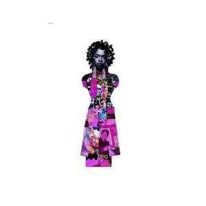 Lauryn Hill in Da Pink Greeting Card