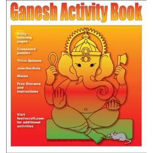 Ganesh Activity book: FestivCraft: Books