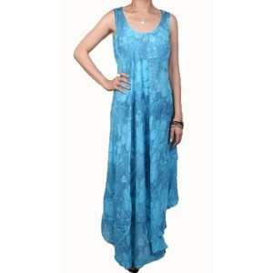 Womens Full Length Loose Fit Dress   Blue Case Pack 6