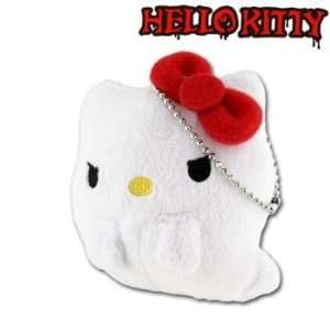 Monster Collection Plush Doll Ball Chain (Mini Ghost)