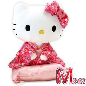 Hello Kitty Kimono Sitting Plush Doll (Pink/Medium)