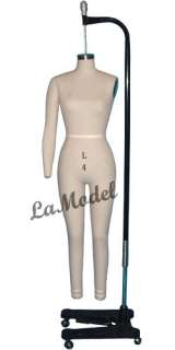 Professional Dress Form, Mannequin, W/Hip Size 6