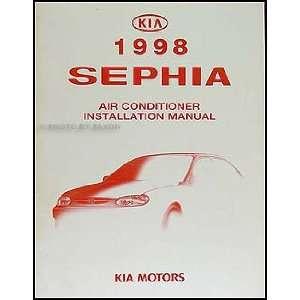 1998 Kia Sephia A/C Installation Manual Original Kia
