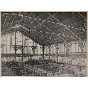 de lave Maria,architects M.M.A. et L. Magne,Paris,France,1886,Market