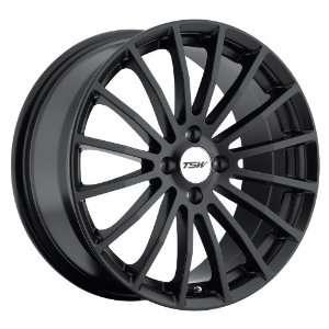 17x7 TSW Mallory (Matte Black) Wheels/Rims 4x114.3 (1770MAL404114B76)