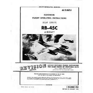 North American Aviation RB 45 Aircraft Flight Manual