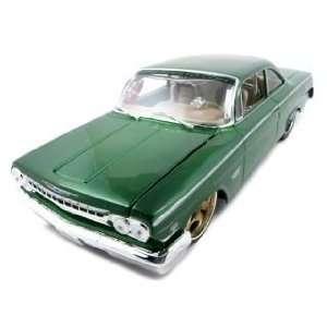 1962 Chevrolet Bel Air Green 1/18 Custom Toys & Games