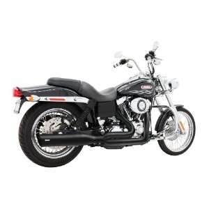Freedom Performance 1991 2005 Dyna Union 2 into 1 Black Exhaust Pipes