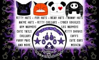 COSPLAY agf KITTY cat FuRRy ANIME BELL collar choker