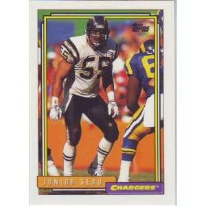1992 Topps Football San Diego Chargers Team Set  Sports