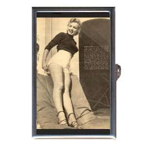 MARILYN MONROE EARLY PIN UP Coin, Mint or Pill Box Made