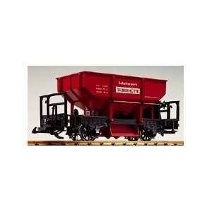 : SILBERHUETTE HOPPER   LGB G SCALE MODEL TRAINS 42413: Toys & Games