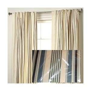 JC Penney Wendy Back Tab Thermal Stripe Blue Set: Home