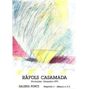 Galeria Ponce 1979 by Albert Rafols Casamada, 22x30 Home