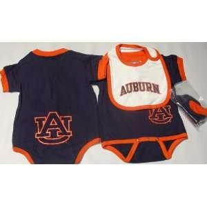 Auburn University Tigers NCAA Creeper/Bootie Set 6 9