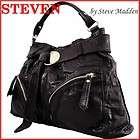 STEVEN BY STEVE MADDEN brown leather hobo NWT $238