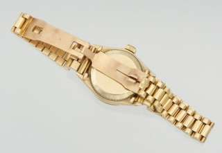 Ladies Rolex Oyster Perpetual 18K Gold Watch 1964 Presidential