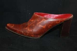 DONALD PLINER COUTURE Women Western MULES Shoe Sz 9