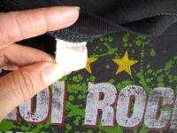 HANOI ROCKS JOHNNY THUNDERS Vintage Concert SHIRT 80s TOUR T 1982 UK