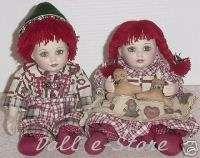 Marie Osmond ~HANSEL & GRETEL~ 2 Dolls w/Cert NRFB
