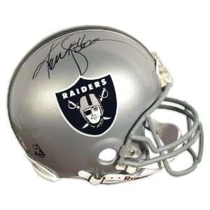 Ken Stabler Signed Helmet   Authentic