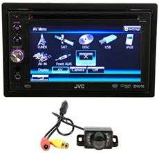 JVC KW AV50 6.1 Car DVD CD USB Player Receiver, iPod/iPhone