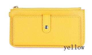 Fashion Lady Women Colorful Purse Card bag clutch bag hand bag free