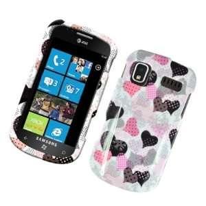 Samsung Focus I917 Pink Hearts Image Design Hard Case