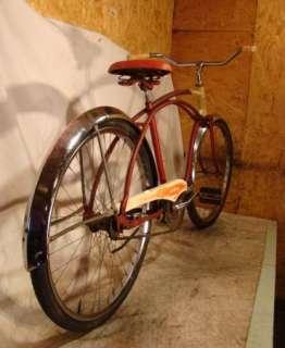 VINTAGE HIAWATHA MENS BEACH CRUISER BIKE/BICYCLE HOT/RAT ROD ANTIQUE