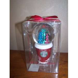 Starbucks Holiday Snow Globe