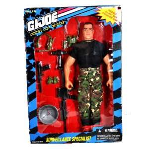 12 Inch Tall Poseable Soldier Action Figure   SURVEILLANCE SPECIALIST