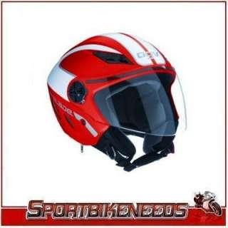 AGV Blade Multi Metro Red White Half Helmet XLarge XL