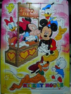 Mini 30 Pcs Jigsaw Puzzle Cute Lovely ~ Mickey Mouse #2