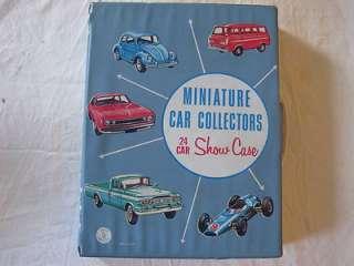 MINIATURE CAR COLLECTORS 24 CAR SHOWCASE Die Cast Hot Wheels Case