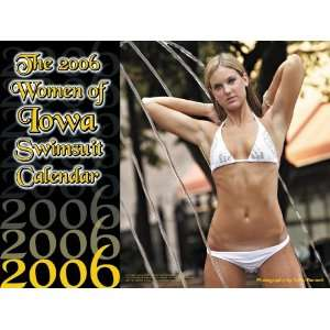 of Iowa Swimsuit Calendar (9781599753874) CampusTown Calendars Books