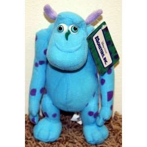 Out of Production Disney Monsters Inc Sulley 8 Plush Monster