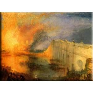 Parliament 30x22 Streched Canvas Art by Turner, Joseph Mallord William