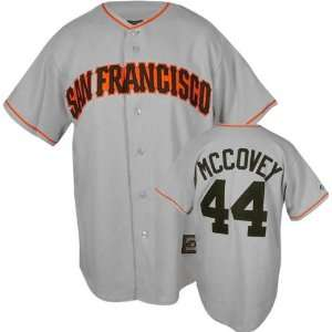 Willie McCovey Majestic Cooperstown Throwback San