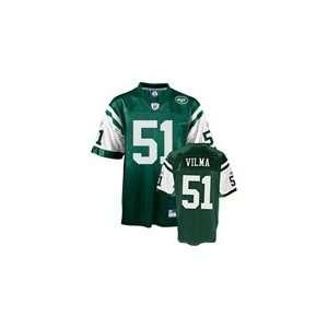 Jonathan Vilma #51 New York Jets NFL Replica Player Jersey