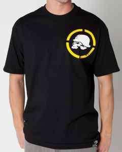 NEW Mens Metal Mulisha DOWN RANGE T shirt tee Black/Yellow S M L XL