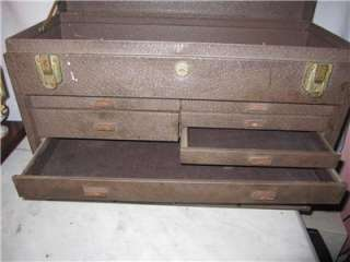 OLD Kennedy 520 Metal Machinist Tool Box