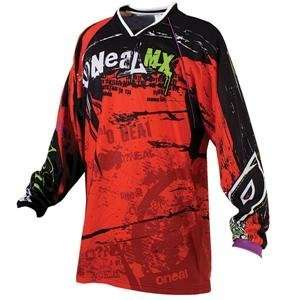 ONeal Racing Mayhem Jersey   2008   X Large/Black/Red
