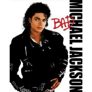 Michael Jackson Bad Album Cover Music Poster Print   16x20