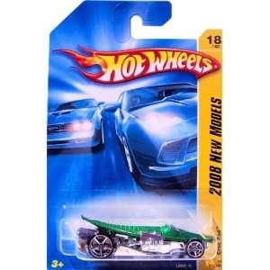 Hot Wheels CROC ROD Faster Than Ever {FTE} wheels, Crocodile Hot Rod