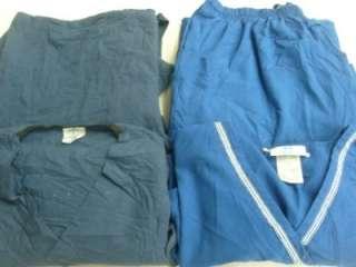 Vet Scrubs Lot 6 Solid Outfits Sets Size LARGE L LG LRG MEDLINE