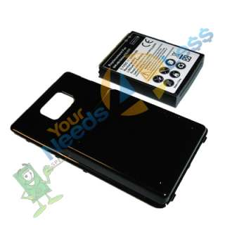 battery Samsung Galaxy S II 2 Attain i777 AT&T + Cover + charg