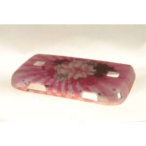 Huawei Ascend M860 Hard Case Cover for Pink Flower