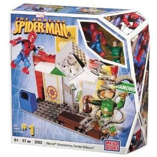 Mega Bloks Spider Man 3  Secret Lab Assault Toys & Games