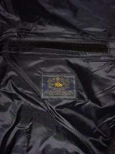 NEW Mens L Polo Ralph Lauren Richmond Black Quilted Vest Corduroy